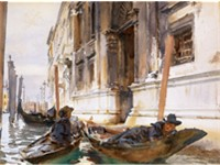&quot;Gondoliers' Siesta&quot;, c. 1904