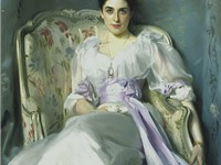 Lady Agnew of Lochnaw by John Singer Sargent, 1893, National Gallery of Scotland