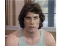 Travolta in one of his earliest roles, in The Boy in the Plastic Bubble (1976)