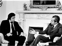 Cash advocated prison reform at his July 1972 meeting with United States President Richard Nixon.