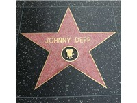Depp's Hollywood Walk of Fame star received on November 19, 1999.