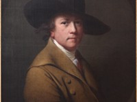 Self-portrait ca. 1780, oil on canvas, in the Yale Center for British Art