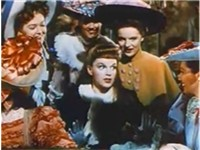 "Garland performing ""The Trolley Song"" in Meet Me in St. Louis (1944)"