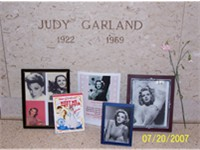 Judy Garland's crypt at The Ferncliff Mausoleum
