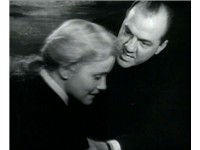 Karl Malden with Eva Marie Saint in the trailer for On the Waterfront (1954)