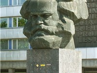 A Karl Marx monument in the German city Chemnitz, formerly the East German city Karl-Marx-Stadt (Kar