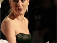 Winslet at the 61st British Academy Film Awards.