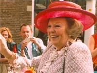 Queen Beatrix of the Netherlands, the reigning monarch of the Kingdom of the Netherlands.