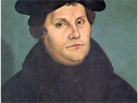 Martin Luther by Lucas Cranach. The Protestant Reformation was essential to the emergence of the nat