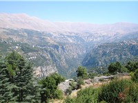 The Kadisha Valley is a World Heritage Site