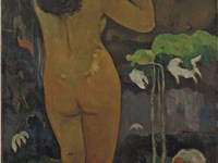 Paul Gauguin, The Moon and the Earth (Hina tefatou), (1893), Museum of Modern Art, New York City. Pa