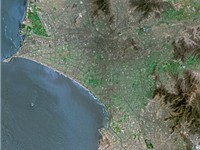 Lima seen from SPOT satellite