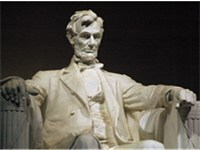 Abraham Lincoln, by Daniel Chester French