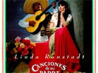 Linda Ronstadt, ca. 1987, on the cover of the Grammy winning album and 2x platinum certified Cancion