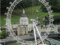Model of the London Eye in Legoland Windsor