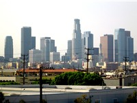 Downtown Los Angeles saw heavy development from the 1980s to 1990s, including the construction of so