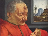 Italian Renaissance painting, Portrait of an old man and his grandson, Ghirlandaio, 1488