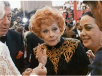 Ball at her last public appearance at the 61st Academy Awards in 1989 just four weeks before her dea