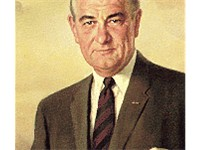 Official White House portrait of Lyndon B. Johnson