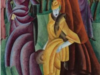 Lyonel Feininger's painting Jesuiten III (Jesuits III), 1915