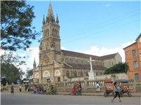 Roman Catholic cathedral in Antsirabe.