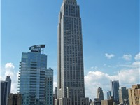 The Empire State Building was the world's tallest building from 1931 to 1972, and is currently the t