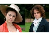 Hayley Atwell as Miss Crawford and Joseph Beattie as Henry Crawford in the 2007 television serial