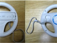Every copy of the game is packaged with the Wii Wheel accessory