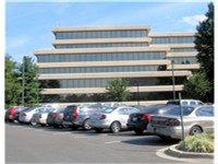 Marriott International headquarters in the Bethesda area of unincorporated Montgomery County, Maryla