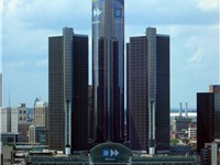 Detroit Marriott at the Renaissance Center is tallest hotel in the Western Hemisphere.