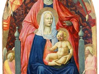 Madonna and Child, Saint Anne and the Angels