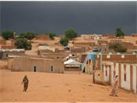 Bareina, a village in south-west Mauritania