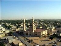 View of Nouakchott.