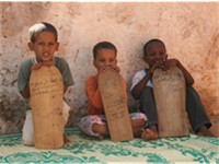 Schoolboys in Mauritania