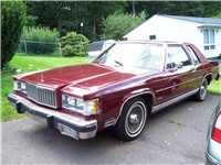 1983 Mercury Grand Marquis LS 2-Door In Maroon