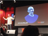 Pollan speaking at TED in 2007