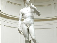 The Statue of David, completed by Michelangelo in 1504, is one of the most renowned works of the Ren