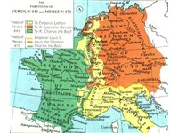 Breakup of the Carolingian empire