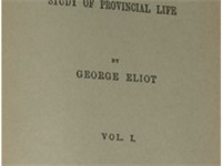Title page of the first edition, Volume 1, published by William Blackwood and Sons in 1871
