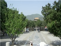 Dingling tomb (one of the 13 Ming Dynasty Tombs)