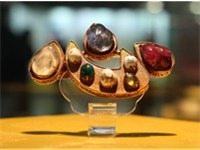 Chinese Xin Shape Jewelry from Ming Dynasty Tombs