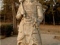 Statue inside the Ming Dynasty Tombs