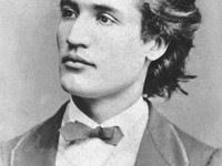 Mihai Eminescu, national poet of Moldova and Romania.