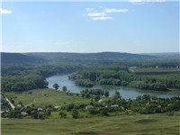 Dniester valley view