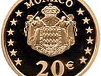 2002 Monegasque  20 commemorative coin