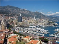 View of the Port of Hercules, La Condamine, Monaco