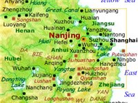 Nanjing Area - Lower Yangtze Valley and Eastern China