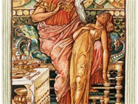 The Midas myth, from A Wonder-Book for Girls and Boys. Illustration by Walter Crane for the 1893 edi
