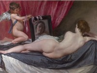 Venus at her Mirror (The Rokeby Venus) by Diego Velázquez.
