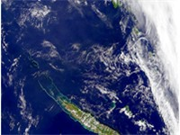 New Caledonia from space